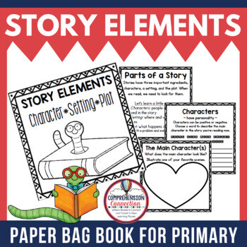 Parts of a Story Paper Bag Book