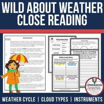 Weather Close Reading Bundle
