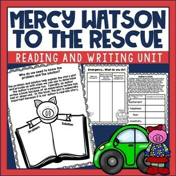 Mercy Watson to the Rescue Book Activities