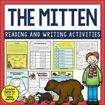 The Mitten Book Activities