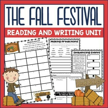 The Fall Festival by Mercer Mayer Book Activities