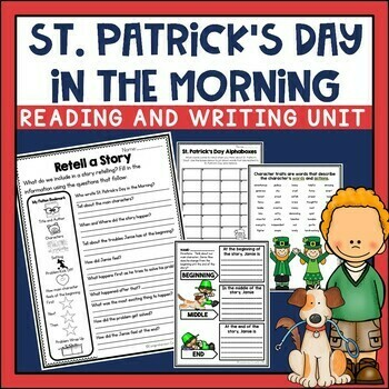 St. Patrick's Day in the Morning Book Activities