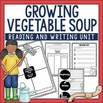 Growing Vegetable Soup Book Activities