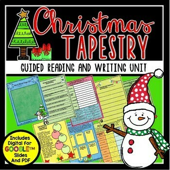Christmas Tapestry Book Activities