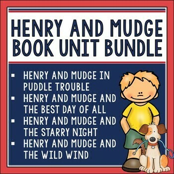 Henry and Mudge Book Unit Bundle