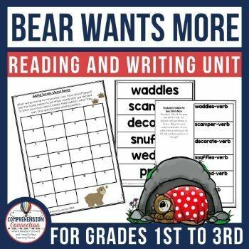 Bear Wants More Book Activities