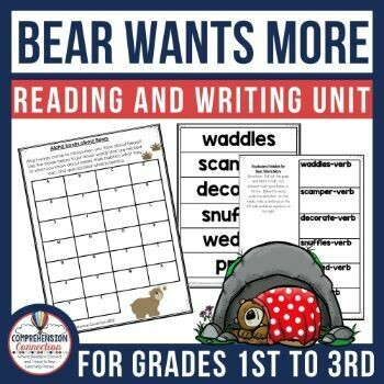 Bear Wants More Book Activities