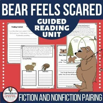Bear Feels Scared Book Activities