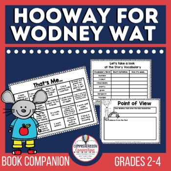 Hooway for Wodney Wat Book Activities