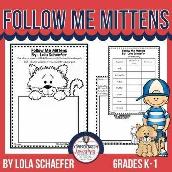 Follow Me Mittens Book Activities