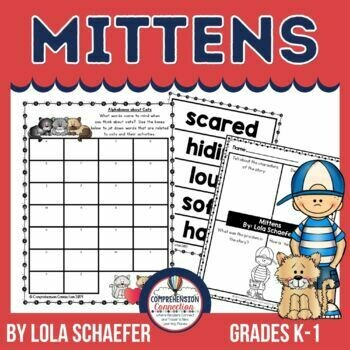 Mittens by Lola Shaefer Book Activities