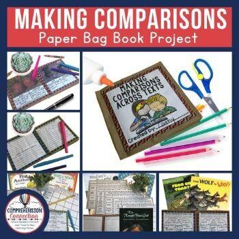 Making Comparisons Paper Bag Book