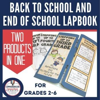Back to School | End of School Lapbook Project