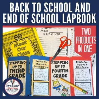Back to School   End of School Lapbook Project