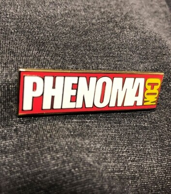 The Official Phenomacon Enamel Pin