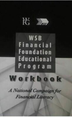 Financial Foundation Educational Workbook