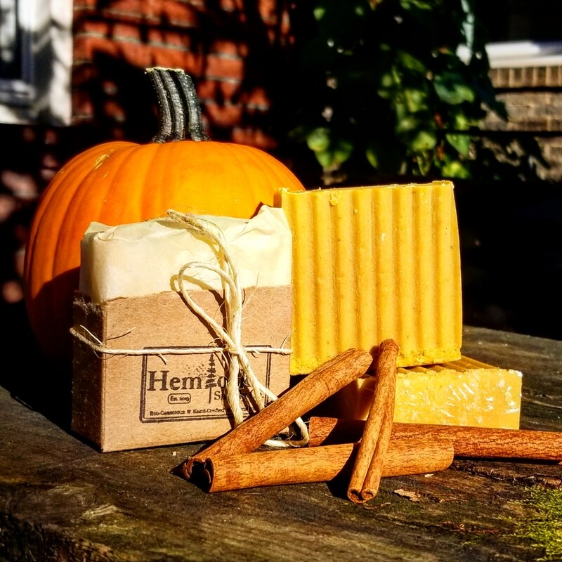 Pumpkin Pie Spiced Soap