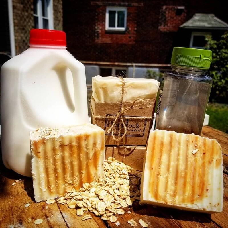 Agave + Oats + Milk Soap
