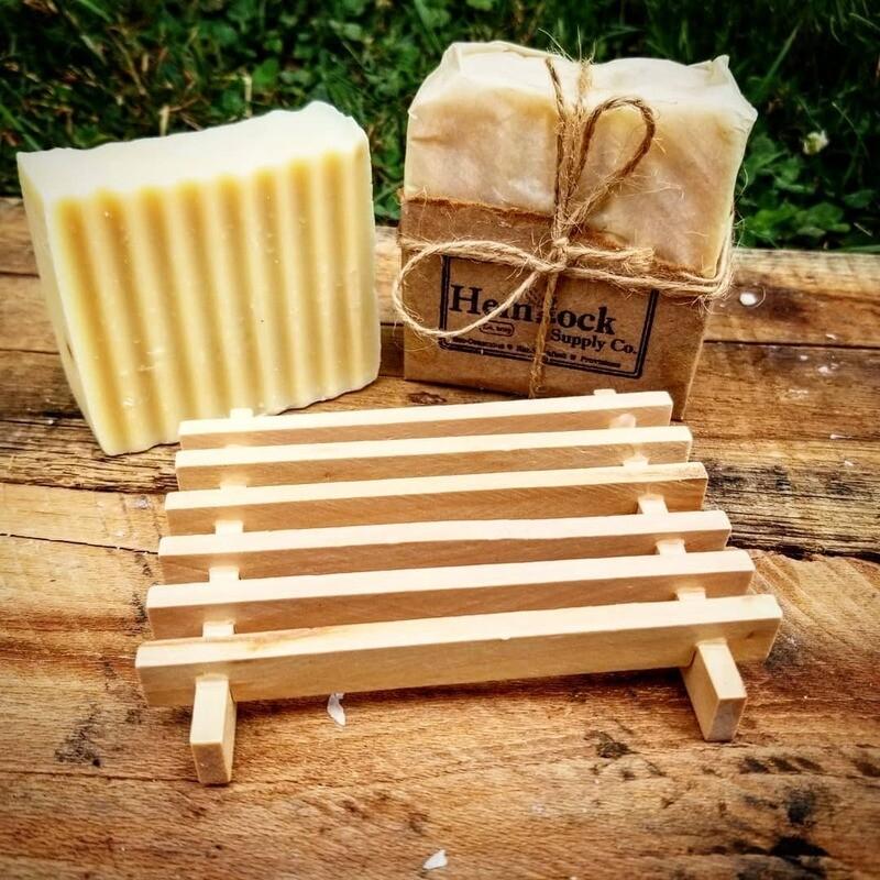 Wood Slat Soap Tray