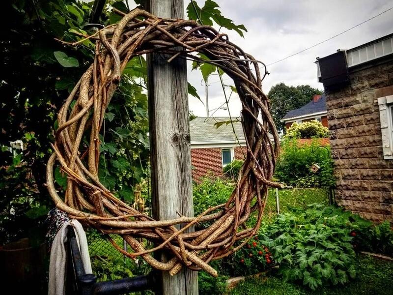 Handmade Vine Wrap Wreath