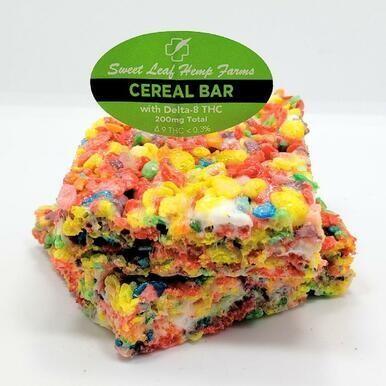 Delta-8 Cereal Bars