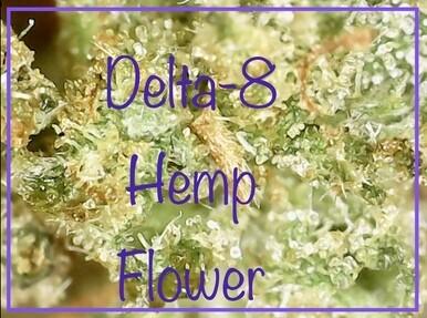 Delta-8 THC  Double Coated CBD Hemp Flower