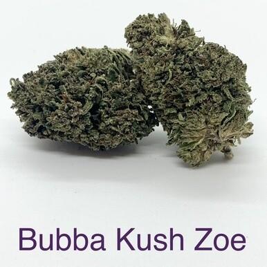 Bubba Kush Zoe CBD Hemp Flower