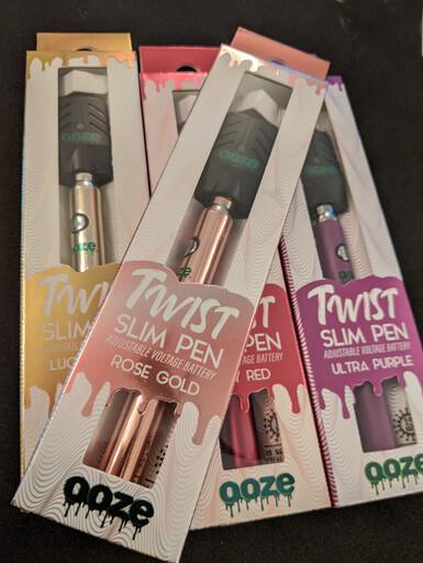 OOZE Twist Slim Pen Battery