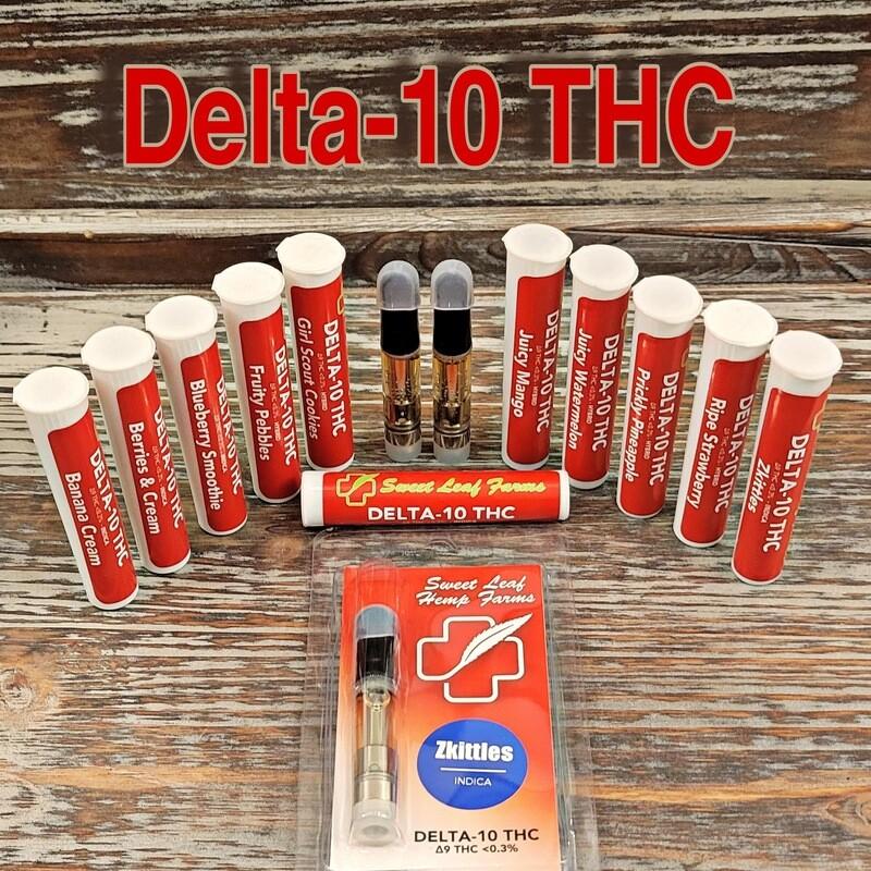 Delta-10 THC Vape Cartridges