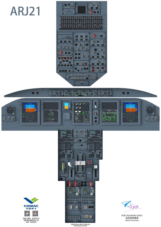 ARJ21-700 Cockpit Poster