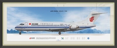 ARJ21 Livery Poster