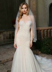 Ashley & Justin Bridal 10491 Ivory Nude Size 12 Sample