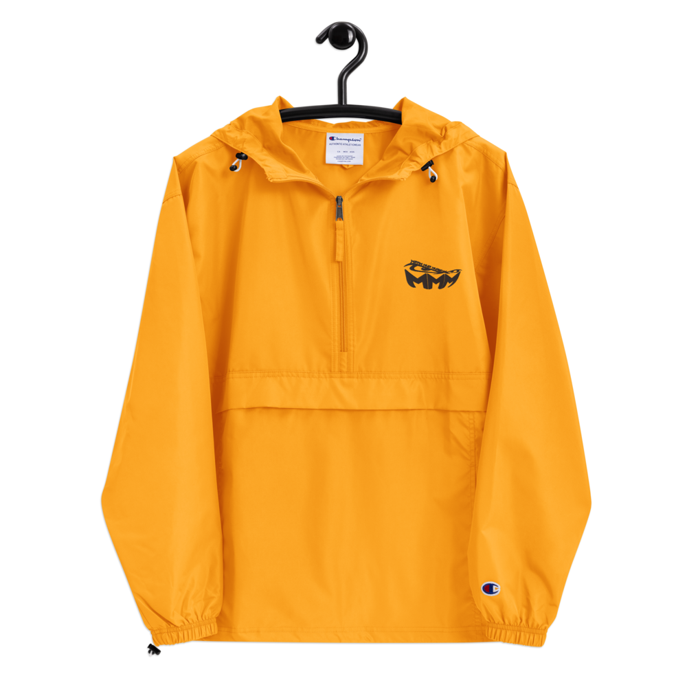 Gold MMM Embroidered Champion Jacket