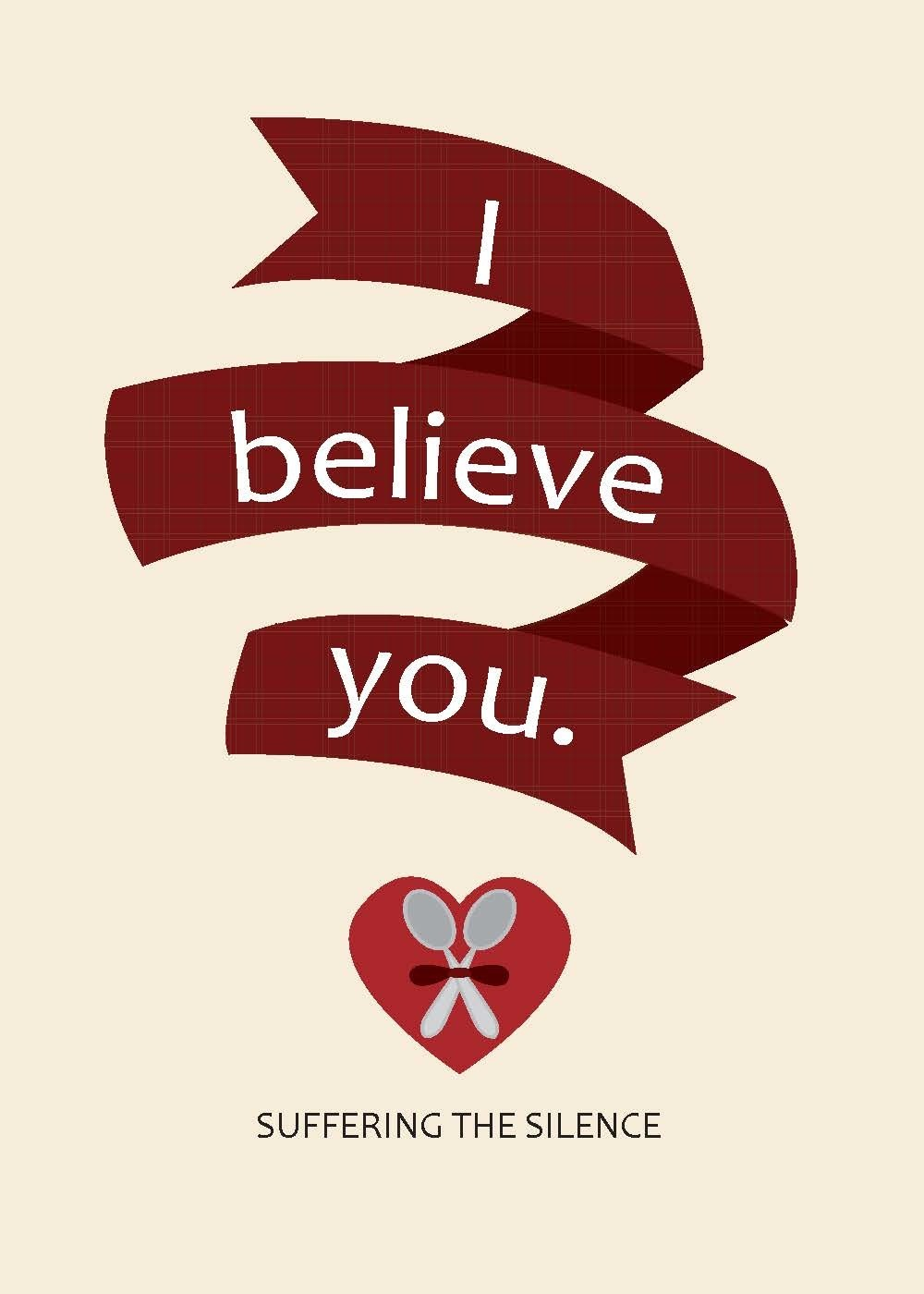 """I Believe You"" Greeting Card"