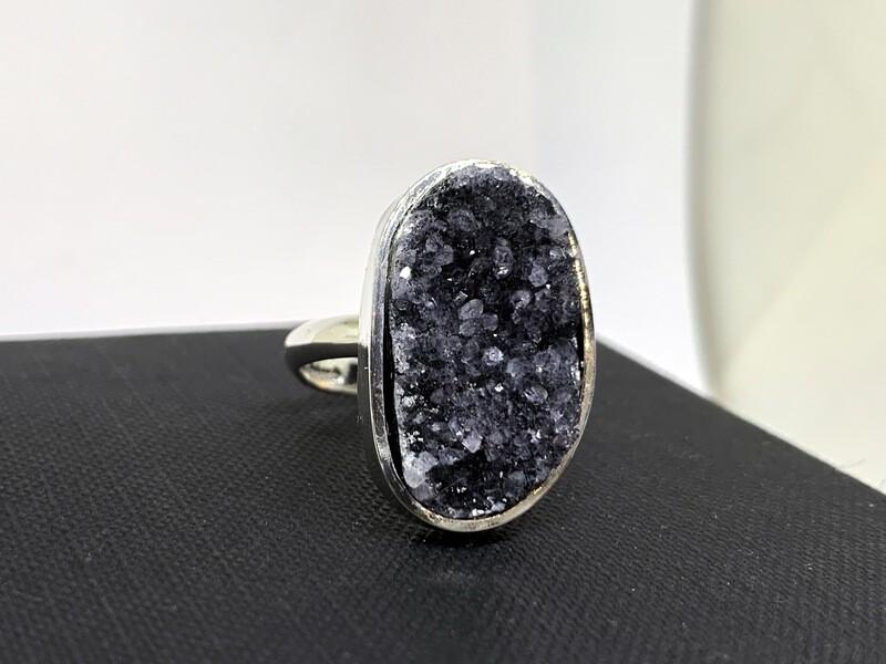 Natural Druzy Ring