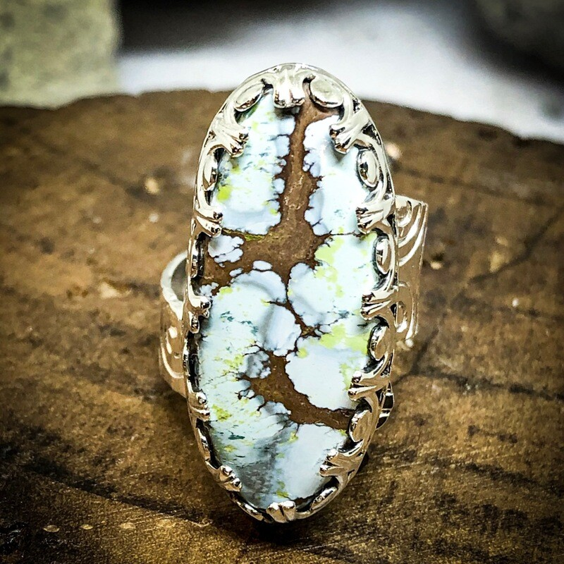 Gobi desert turquoise ring