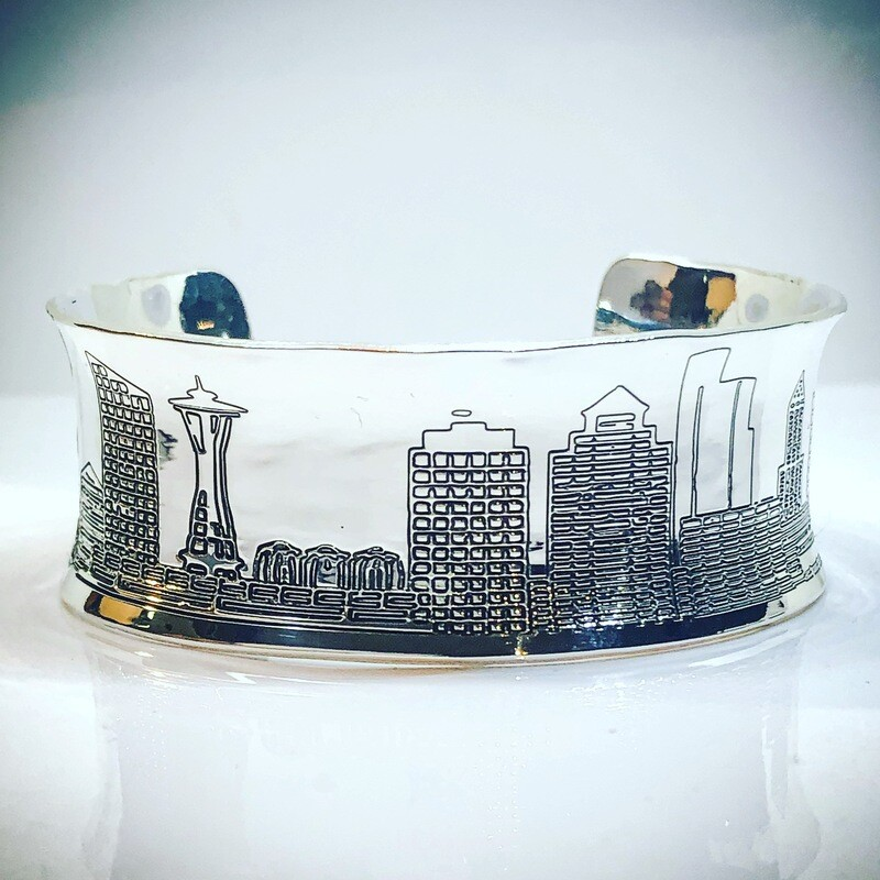 Seattle Skyline Bracelet
