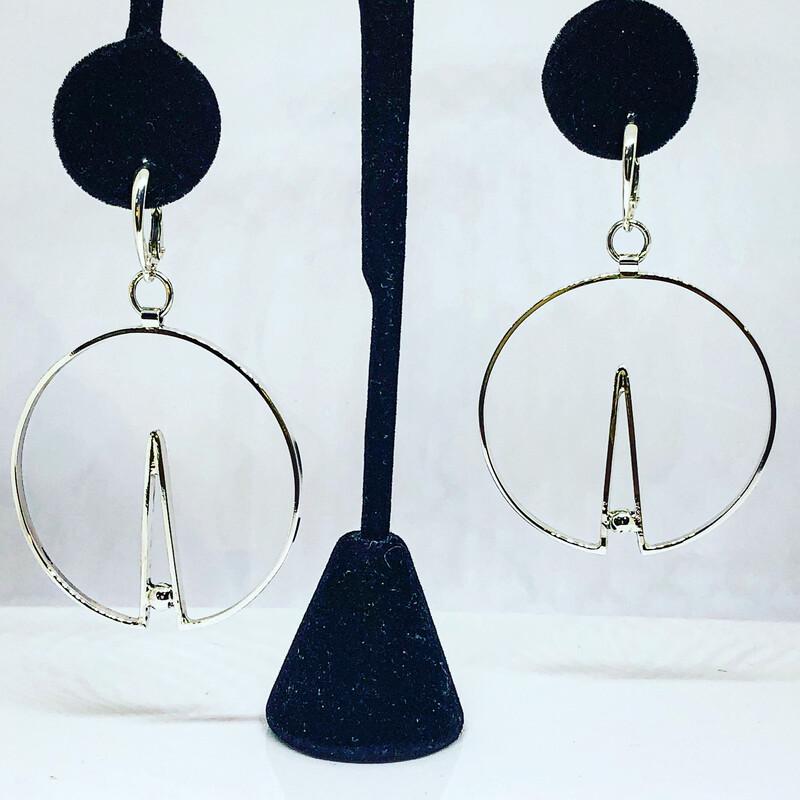 Argentium Sterling Hoop Earrings