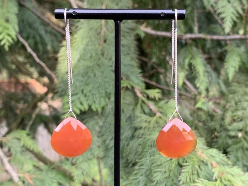 Carnelian Earring - Long