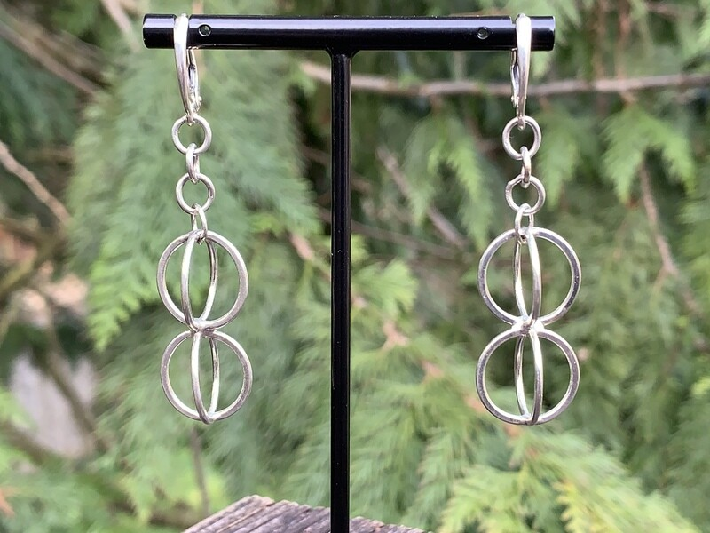 Argentium Sterling Silver Earring