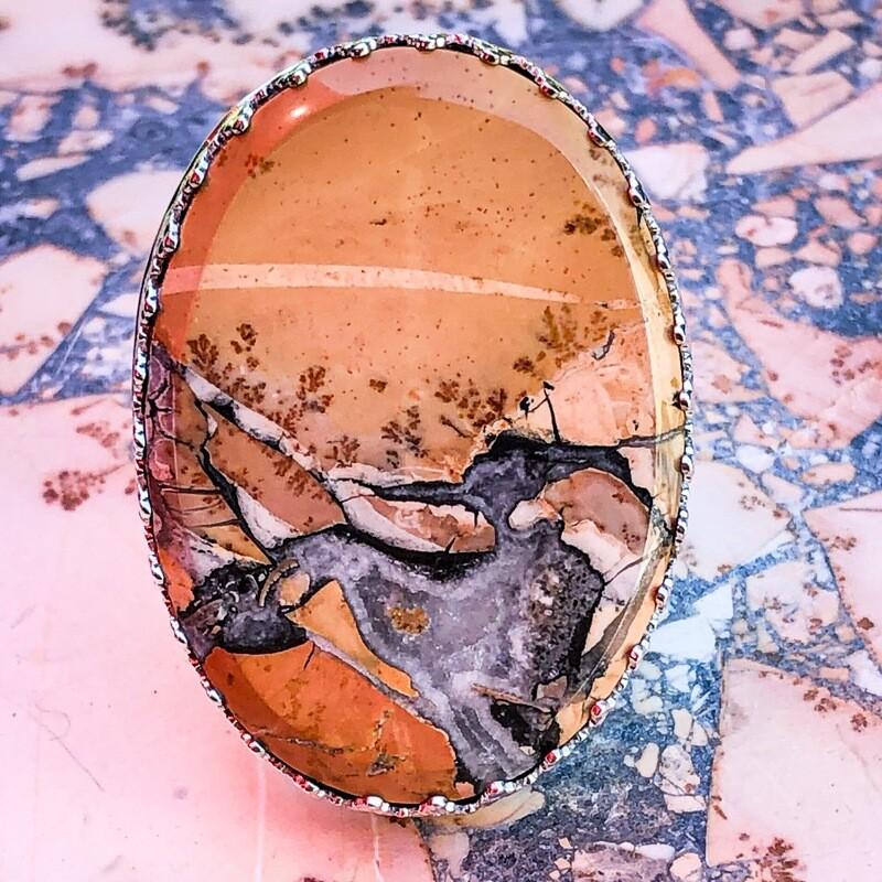 Maligano Jasper Ring size 8