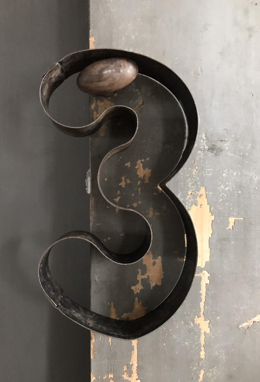 Metalen cijfers
