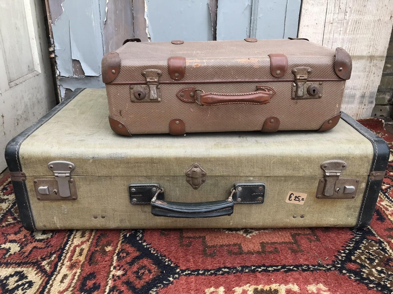 Brocante koffers