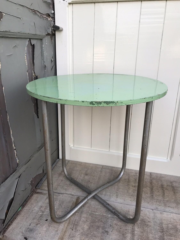 Vintage tafeltje rond