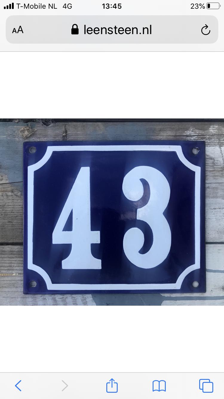 Huisnummer
