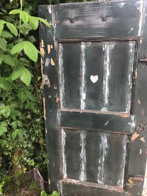 Oud deurtje