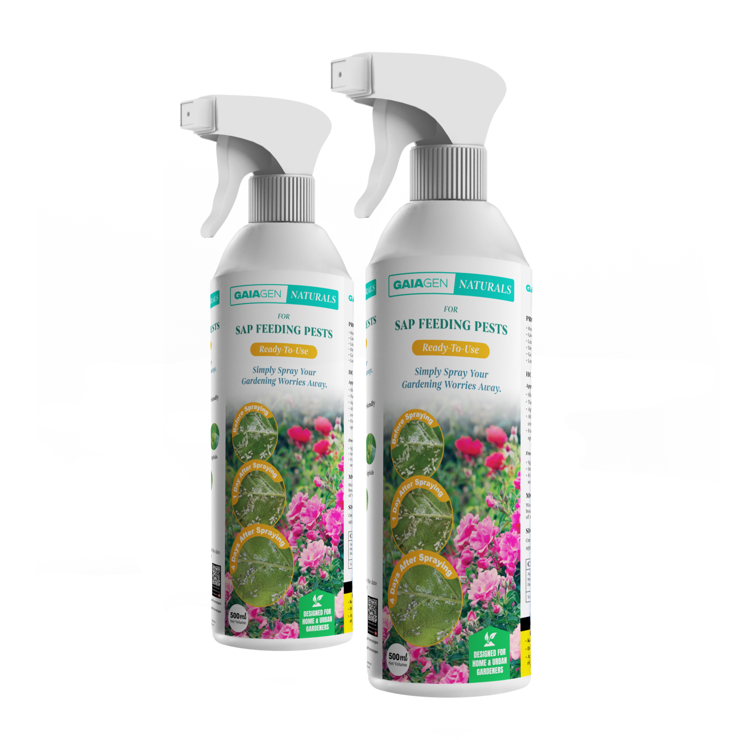 Gaiagen Naturals for Sap Feeding Pests (Ready-To-Use)   500ml   (Pack of 2)