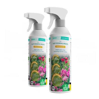 Gaiagen Naturals for Sap Feeding Pests (Ready-To-Use) | 500ml | (Pack of 2)