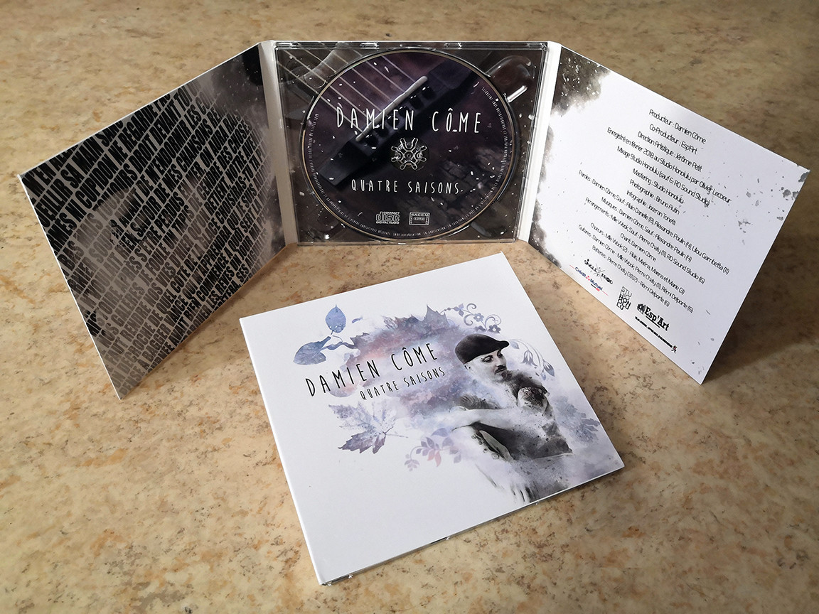 "01. Album ""Quatre Saisons"" (Digipack)"