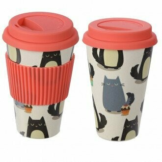 Eco-Friendly Biodegradable Bamboo Travel Cup